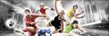 sports games category header